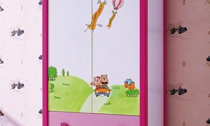 Kolorowe szafy dziecięce